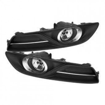 OEM Style Fog Lights with Switch- Clear
