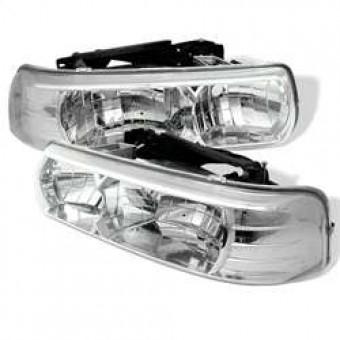 Crystal Headlights - Chrome