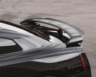 Matte Carbon Fiber OEM Spoiler Blade Add On Gurney Flap 09-17 Nissan GT-R R35 Agency Power