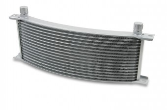 -8M 13 ROW WIDE CURVED COOLER GREY