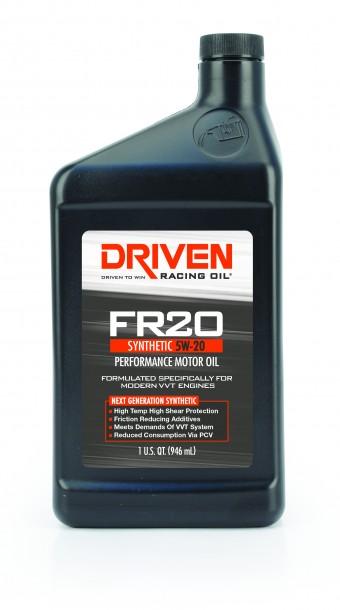 FR20 5W-20 Synthetic Street Performance Oil - 1 Quart Bottle