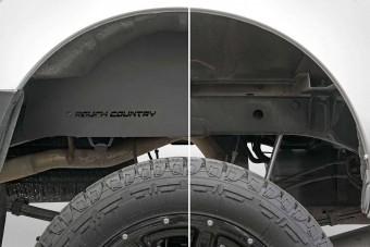 Nissan Frontier Steel Rear Wheel Well Liners (05-20 | Crew Cab)