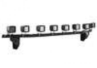 L.M.S. (Light Mounting Solution); Light Bar; Textured Black