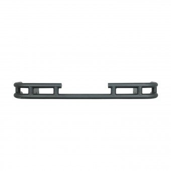 "Tubular Rear Bumper 2"" Inch Black"