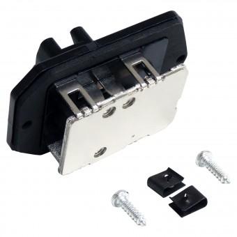 HVAC Blower Motor Resistor for Jeep JK Wrangler 2007-2010; Includes Hardware