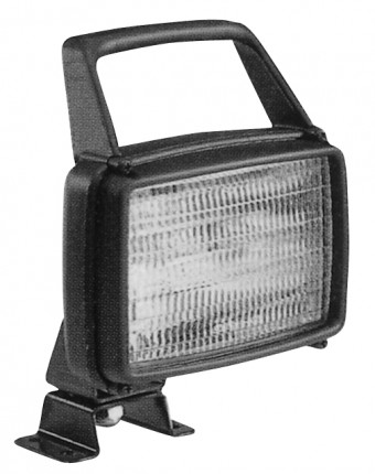 AS 115 Halogen Work Lamp with Handle (CR)