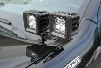 CHEVROLET SILVERADO 2500/3500 A-Pillar 4 LED Pod Lights Kit