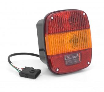 Tail Light Export; 97-06 Jeep Wrangler TJ