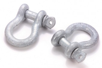 BOW SHACKLE-PAIR-1/2 IN