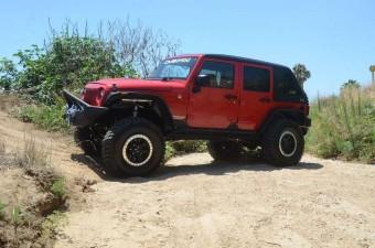 Jeep JK Hard Top Fast Back 07-18 Wrangler JK 4 Door Raw W/Wiper 2 Piece DV8 Offroad