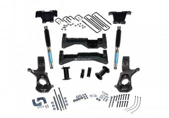 8 Lift Kit - 07-16 Silv/Sierra 1500 2WD w Cast Steel Ctrl Arms wBil Rear Shocks