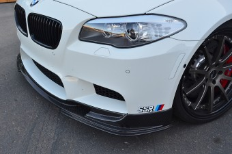 Agency Power Carbon Fiber Front Lip Spoiler BMW M5 F10 12-17 Agency Power