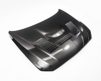 Agency Power Carbon Fiber Dual Sided Vented Hood F22 2 Series, F87 M2 Agency Power
