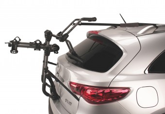 Over-the-Top 2 Trunk Rack carries 2 bikes