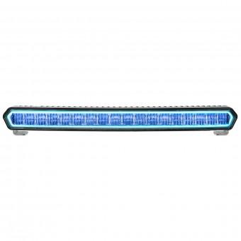 SR-L SERIES 20 INCH OFF-ROAD LED LIGHT BAR BLACK WITH BLUE HALO