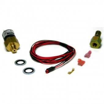 Low Fuel Pressure Alarm Kit, Amber LED - 1998-2007 Dodge 24-valve