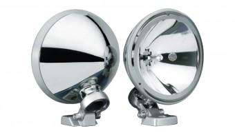 FF 200 Single Chrome Fog Lamp