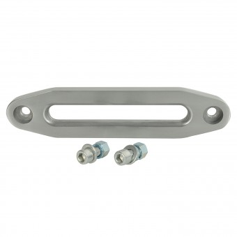 """10"""" Aluminum Fairlead for Synthetic Rope w/ Hardware"""