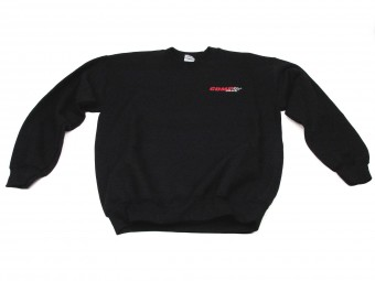 Sweatshirt, Black COMP Crewnec