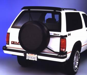Covercraft Spare Tire Cover - Black