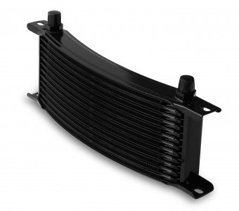 -6M 13 ROW NARROW CURVED COOLER BLACK