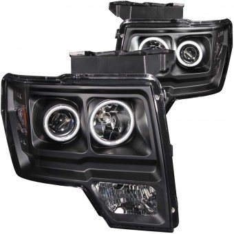 Projector Headlight Set w/Halo