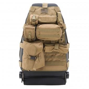 Smittybilt GEAR SEAT COVER - FRONT - COYOTE TAN JEEP, 76-18 CJ & WRANGLER (YJ/TJ/LJ/JK) 5661024
