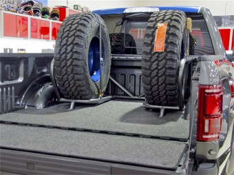 Bed Mounted Tire Carrier