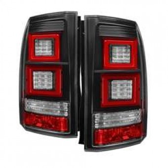 Light Bar LED Tail Lights - Black