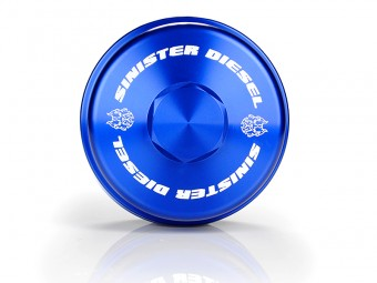 Sinister Diesel Fuel Filter Cap for Ford 6.4L