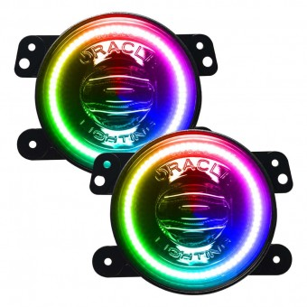 High Performance Fog Lights, Dynamic ColorSHIFT