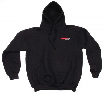 Sweatshirt, Hooded Black COMP