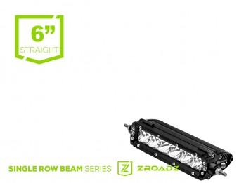 Led Light Bar Single Row Slim Line Straight - 1.75'' Height 6'' LED bar