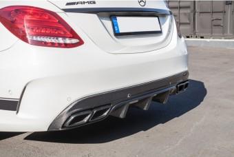Agency Power Carbon Fiber Rear Diffuser Mercedes C63 Coupe W205