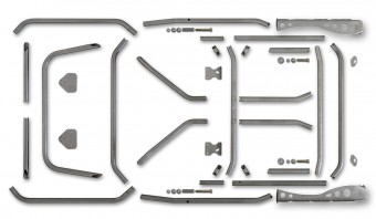 TJ Heavy Duty Header Bar Kit Poison Spyder
