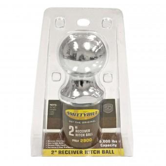 """Smittybilt 2"""" RECEIVER BALL RECEIVER HITCH BALL 2900"""