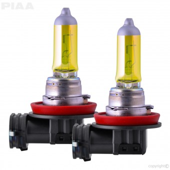 H11 Solar Yellow Replacement Bulb