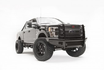 Black Steel Front Ranch Bumper