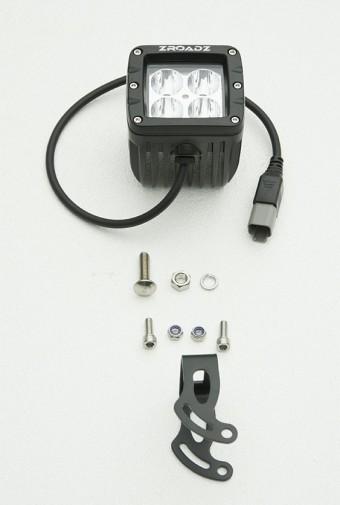(2) 3 Inch ZROADZ LED Spot Beam Pod Lights