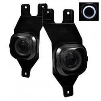 Halo Projector Fog Lights with Switch - Smoke