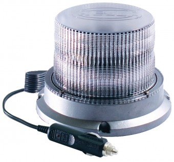 UltraRAY 4 Low-Profile White LED Beacon Magnetic