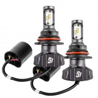 9004 S3 LED Headlight Bulb Conversion Kit, 6000K