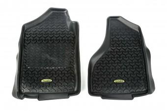 All Terrain Floor Liner, Front Pair, Black; 02-11 Ram 1500-3500