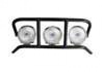L.M.S. (Light Mounting Solution); DRP Light Cage; Textured Black