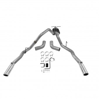 Cat-back System 409S - Dual Rear/Side Exit - Force II - Moderate Sound