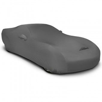 CUSTOM VEHICLE COVER SATIN STRETCH GRAY CLASS 1, Geo,Metro,1995-1997