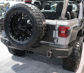 Full Width Rear Bumper