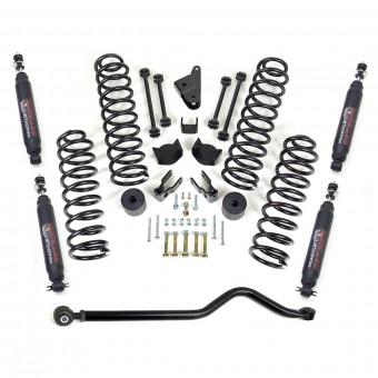 2007-17 JEEP JK 4'' SST Coil Spring Lift Kit with Adj Track Bar  SST3000 Shocks
