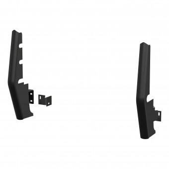 "Black Steel 2"" Tubular Grille Guard Upright Package"