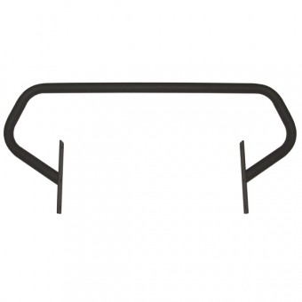 Grille Guard, Textured Black; 87-95 Jeep Wrangler YJ